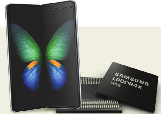 12GB 괴물급 메모리, 갤럭시 폴드에 실린다